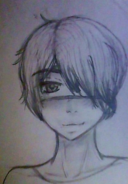 pencil_headshot_commission__hizuki_by_ca