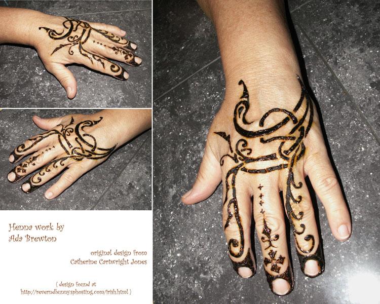 Mehndi Equals Henna : Irish henna hand by witch sbrew on deviantart