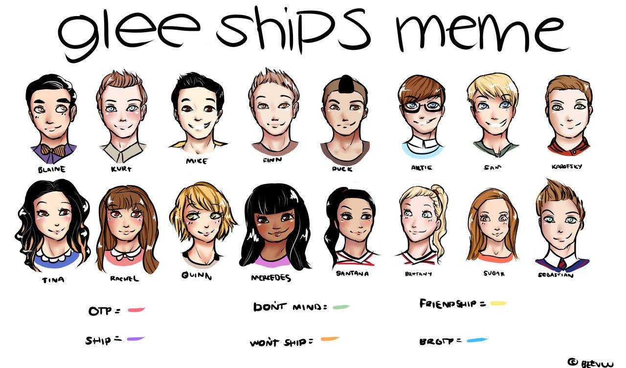 Glee Ships Meme Blank by BeeVuu