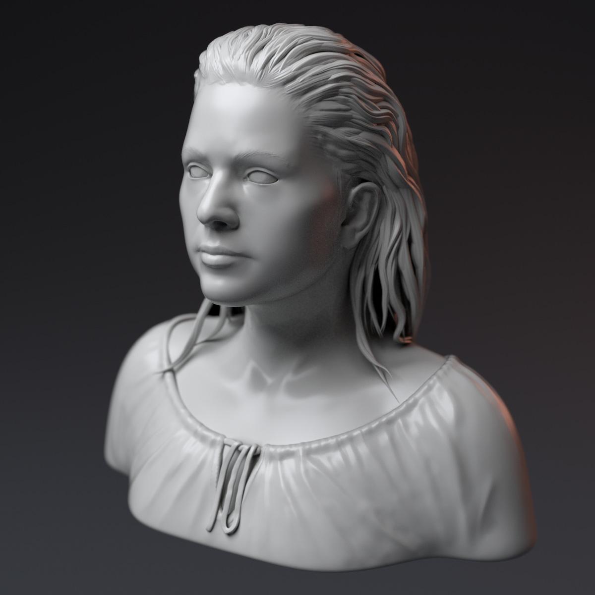 Female portrait by Zelfit