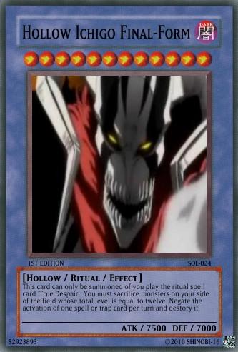 Hollow Ichigo Final Form By Shinobi 16
