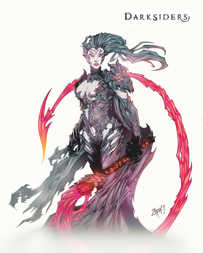 Darksiders 3 - Fury Chaos Form Concept: by Lorddragonmaster on ...