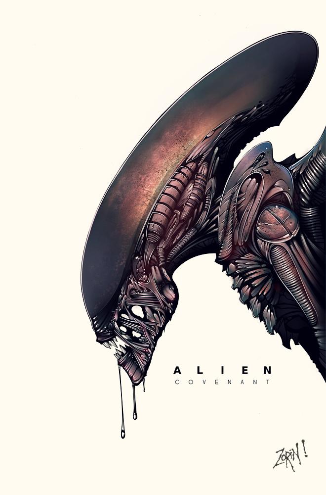 Alien #Acidforblood by Trustkill-Jonathan