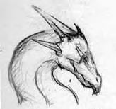dragon first sketch by gon3woodstock