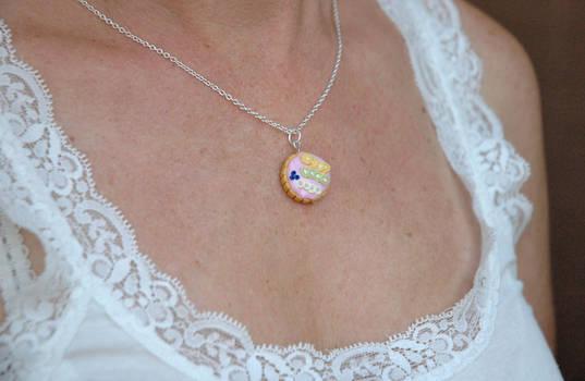 Pinkish Tart Necklace
