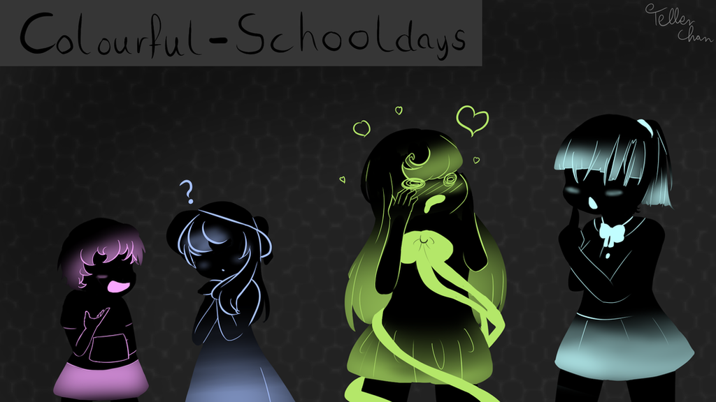 Colourful - Schooldays by TellerChan