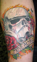 Storm Trooper tattoo by Ogra-the-Gob
