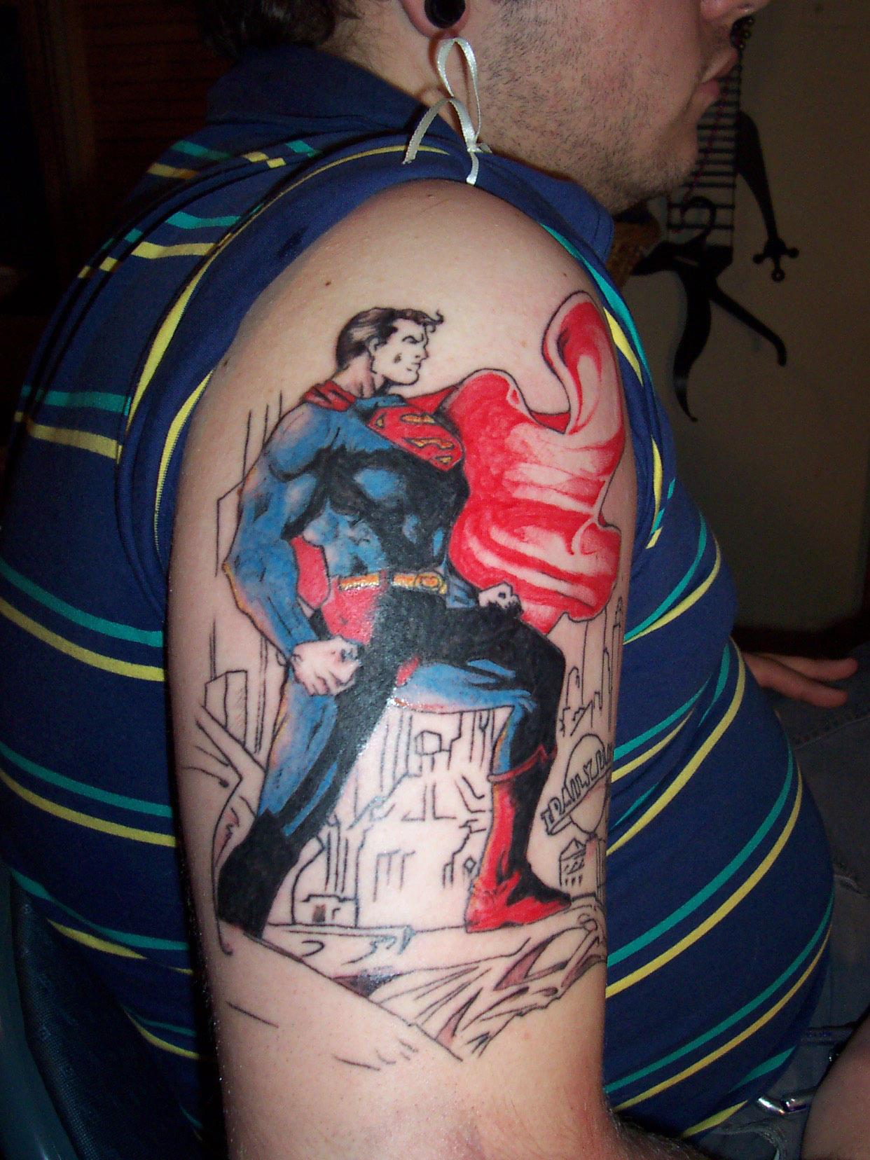 superman comic cover by ogra the gob on deviantart. Black Bedroom Furniture Sets. Home Design Ideas