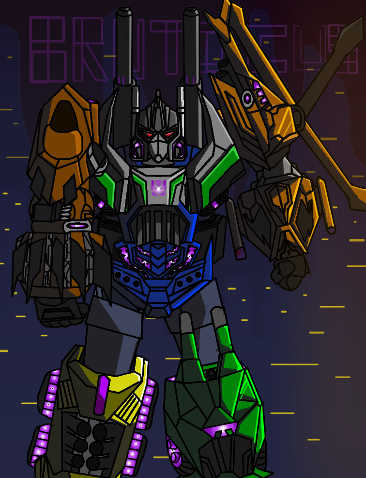 Favorite transformers 3/10: Burticus by StarBoy8