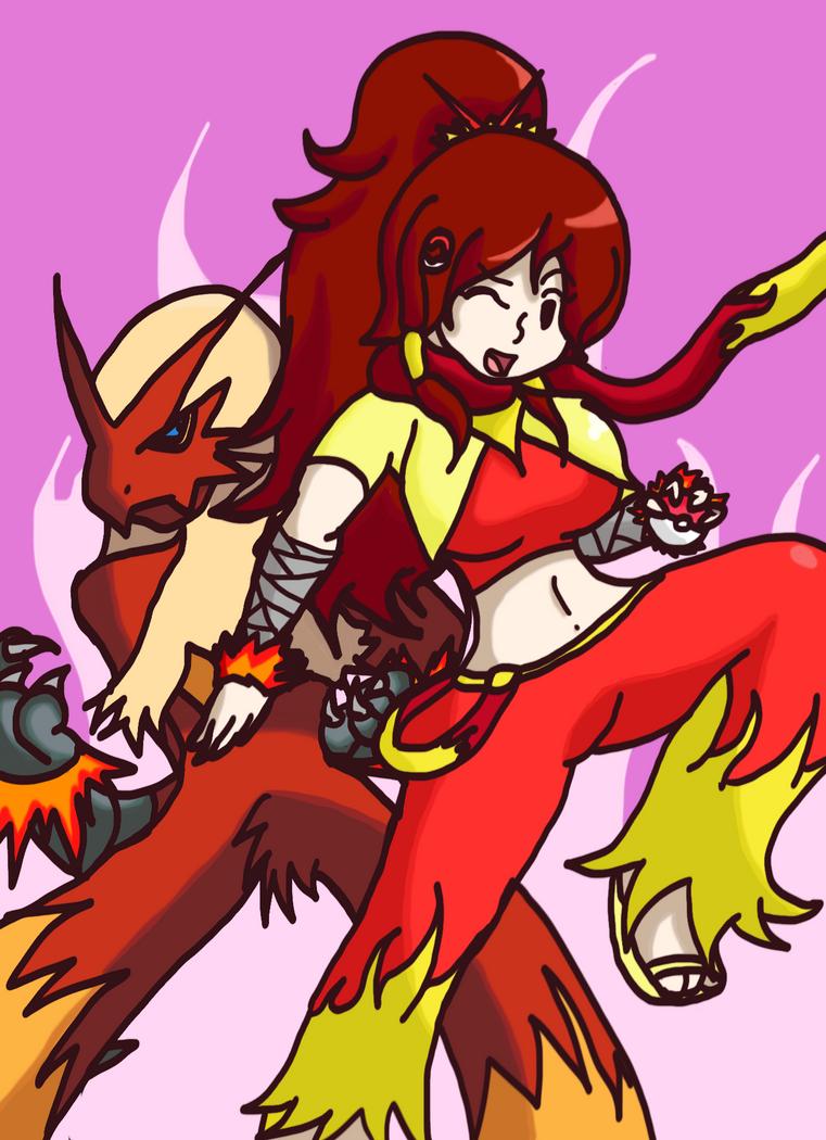 Request: Pokemon Trainer Lana by StarBoy8