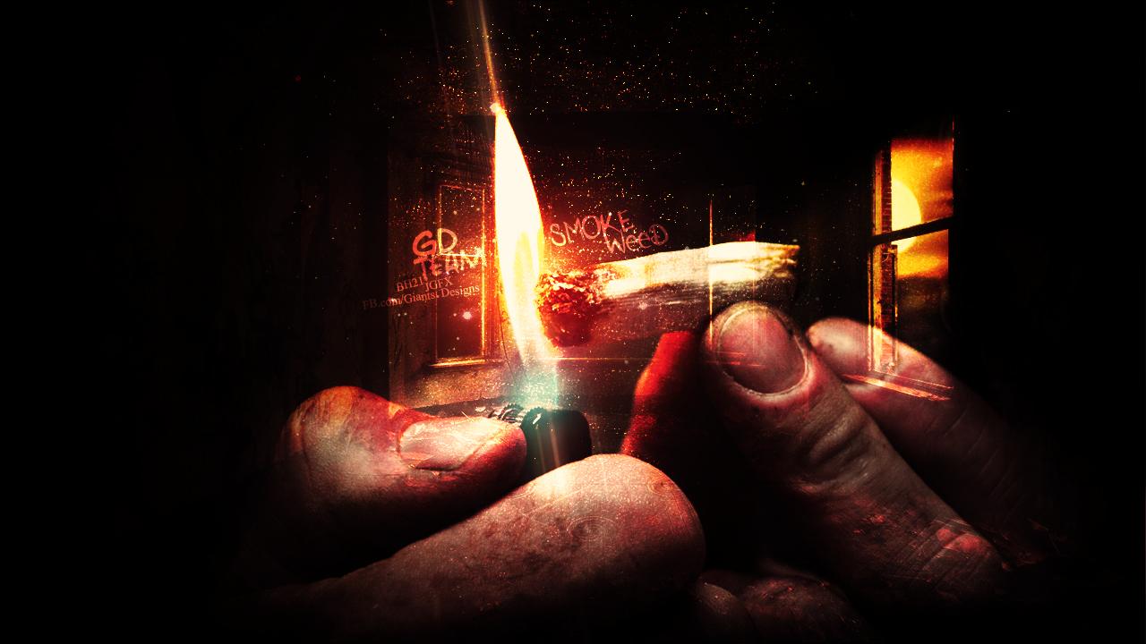 weed smoke art wallpaper - photo #3