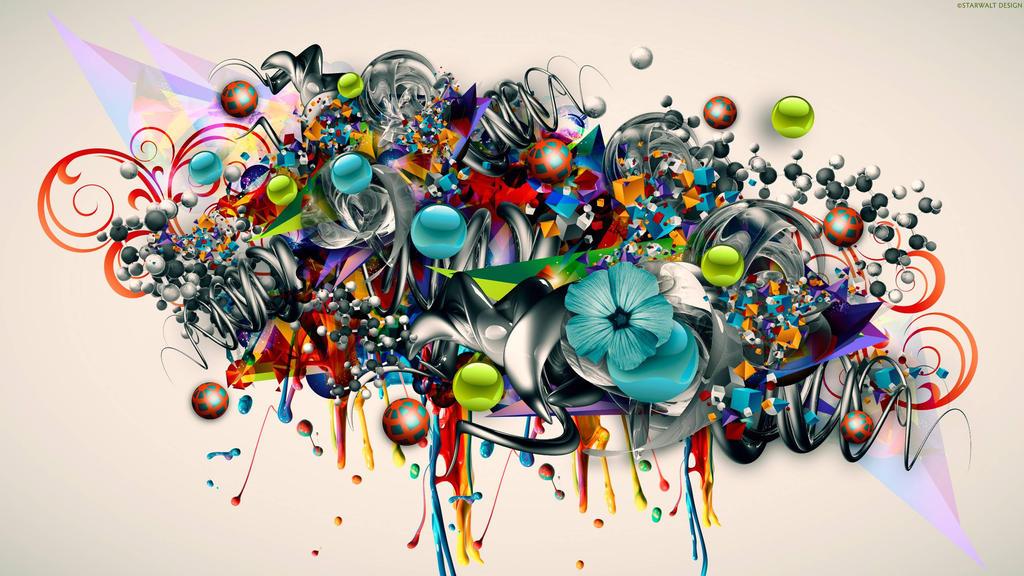 my colorful graffiti design. by MonicaMoralis ...