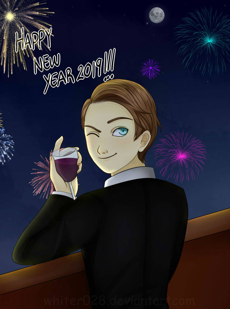 Max - Happy New Year 2019 by Whiter028