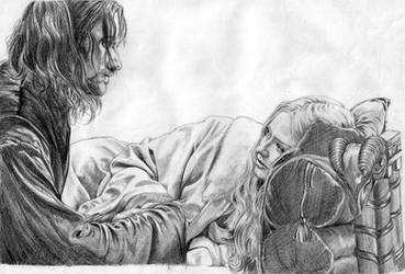 Lord of the Rings..Aragorn by thehiddensapphire