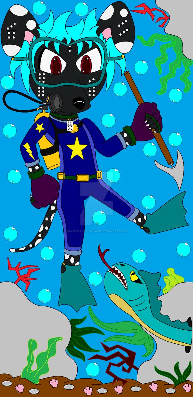 .:Domino's Underwater Hunt:. by RachelPearlFlower