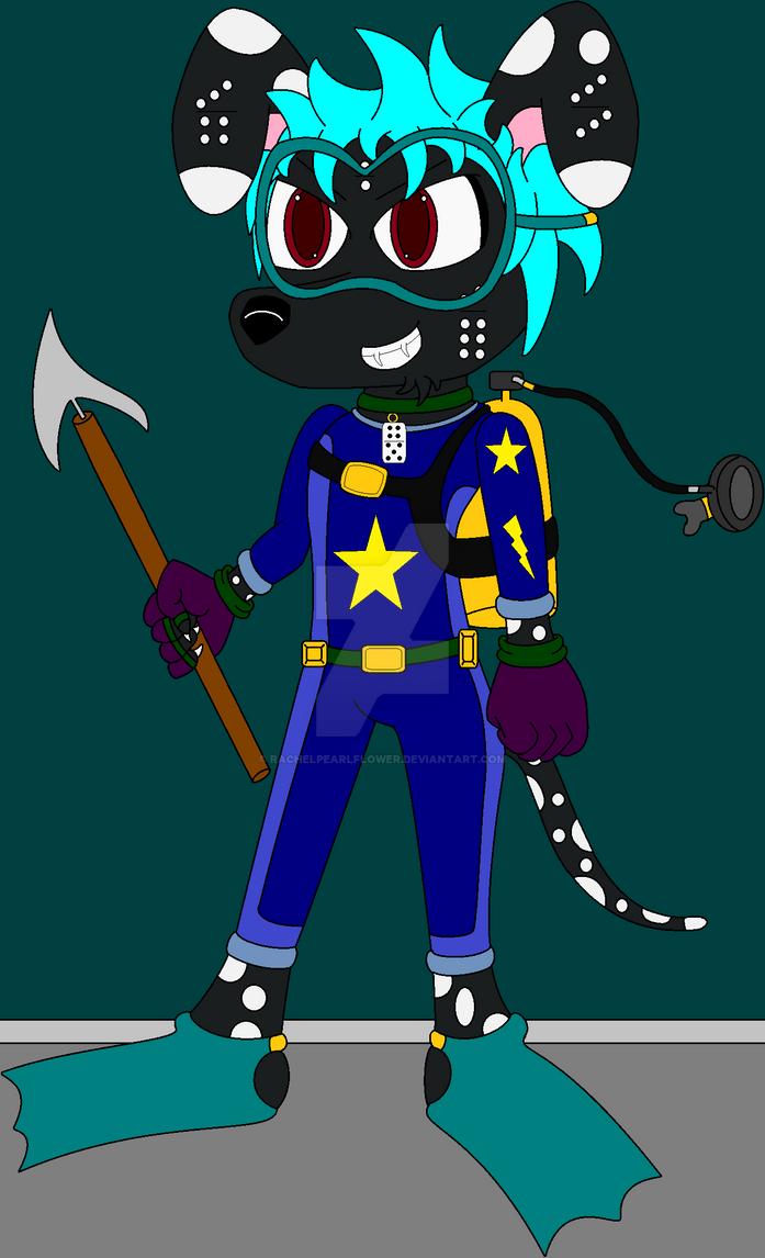 .:Domino's Scuba Suit:. by RachelPearlFlower