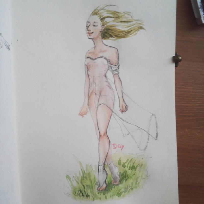 Goddess by CleryKaru