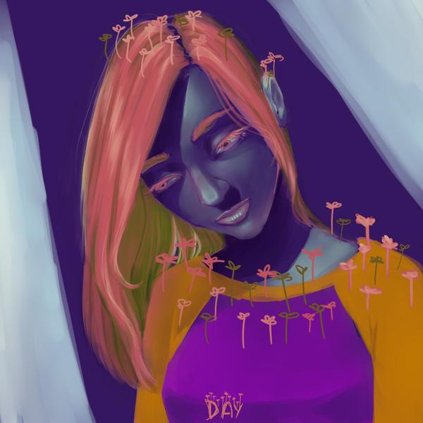 A little flower by CleryKaru
