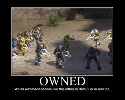 Halo 3 Motivational Poster by Darkman140