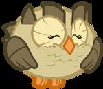 Owlowiscious: A Happy Owl