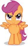 Scootaloo Is Not Amused