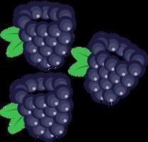 Blackberry Surprise's Cutie Mark [Request] by Lahirien