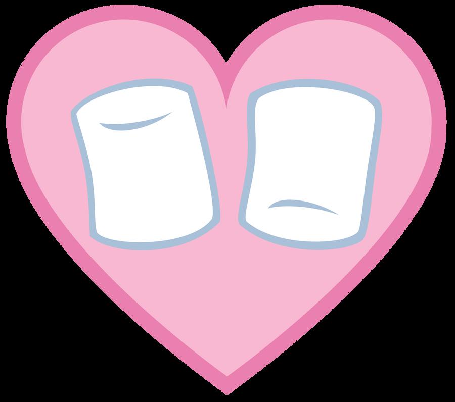 Marshmallow Vector Marshmallow's cutie mark by