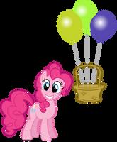 Balloons In My Basket by Lahirien