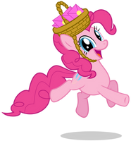 Pinkie Pie: Cutest Bounce Ever by Lahirien