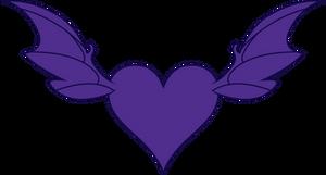 Shadow Heart's Cutie Mark [Request] by Lahirien