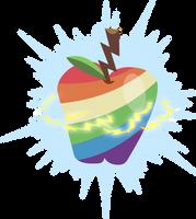 Zap Apple's Cutie Mark [Request] by Lahirien
