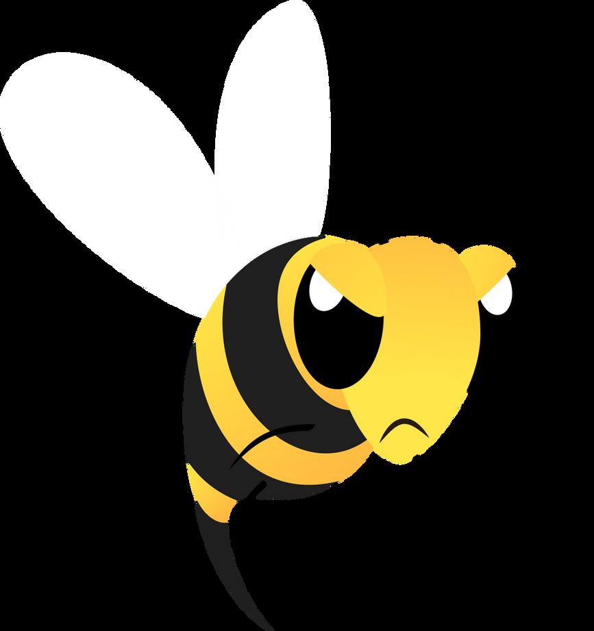 angry bumblebee cartoon - photo #2