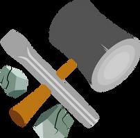 Coalstone's Cutie Mark [Request] by Lahirien