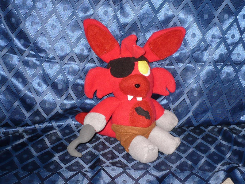 Fnaf foxy plush by vickyj on deviantart