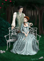 Art-trade - Franz et Elizabeth by Gudulett-e