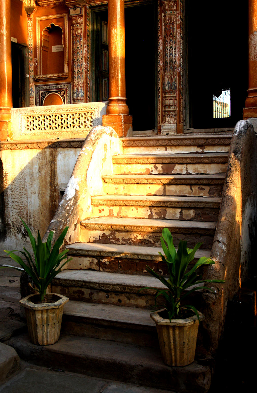 India - Haveli by Gudulett-e
