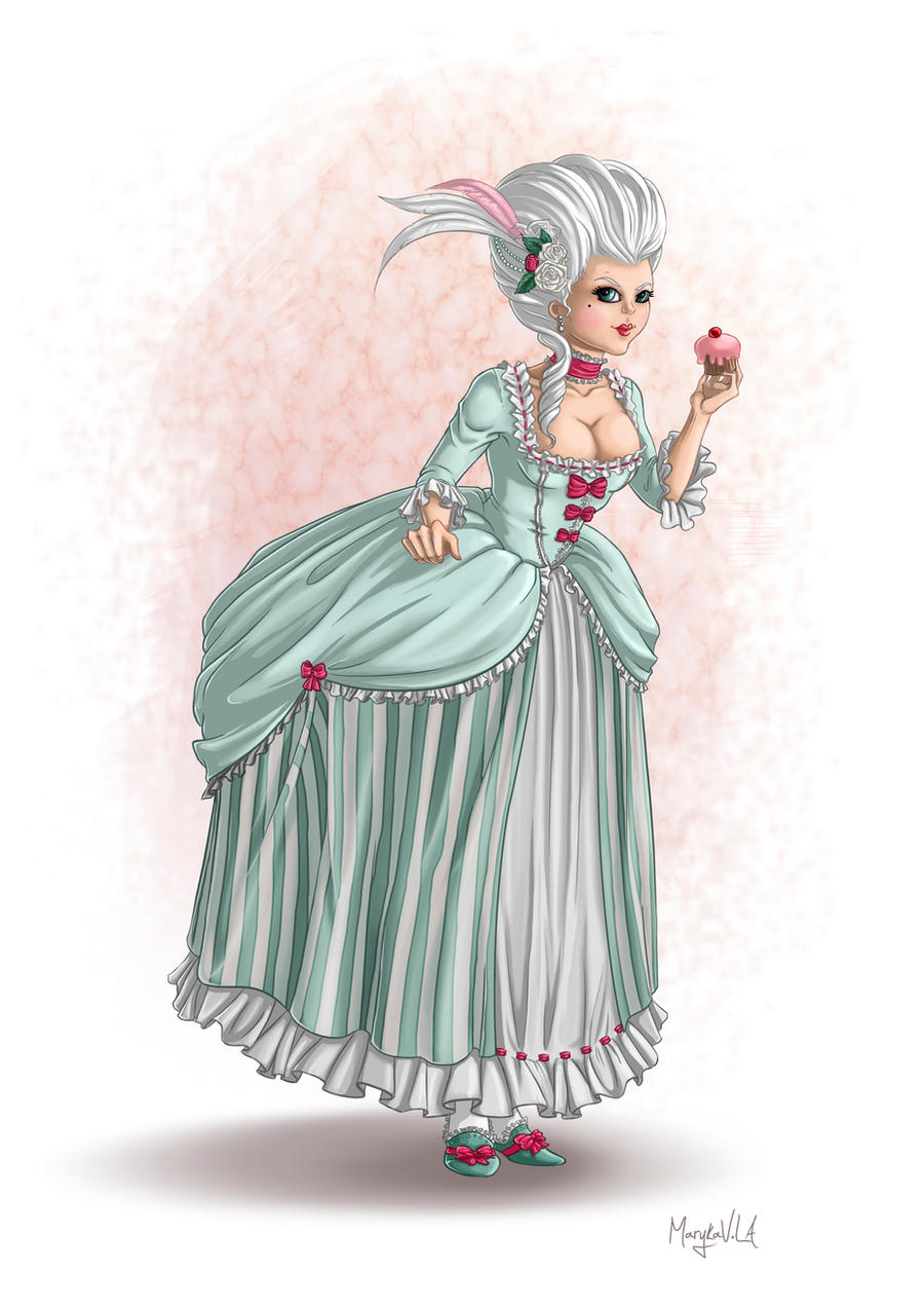 Rococo teatime by Gudulett-e