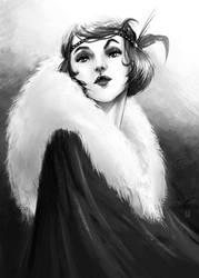 Portrait by Gudulett-e