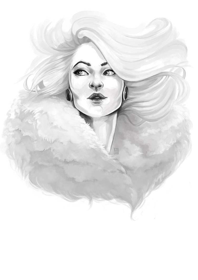 Portrait 3 by Gudulett-e