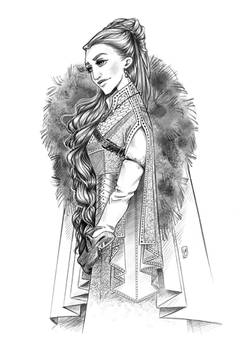 Queen In The North Redraw