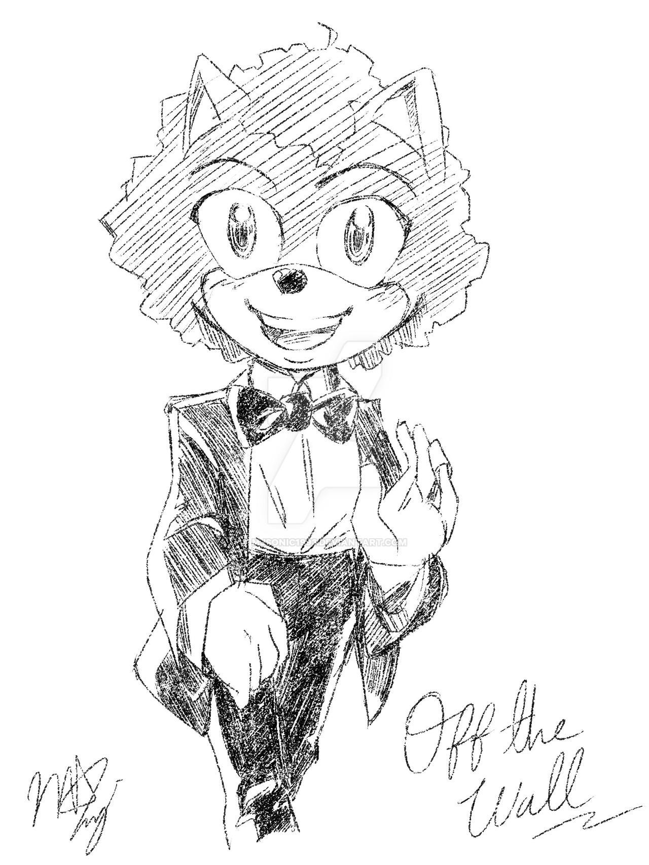 M J Sketch Images MJ the Hedgehog - Off ...