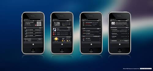iPhone Lockinfo Concept