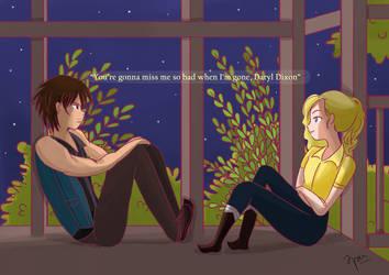 Beth dan Daryl by Vanilique
