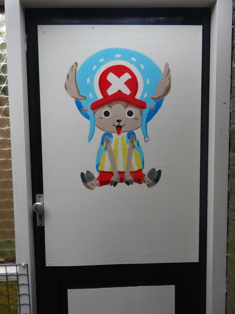 Chopper (first time I painted something) by OC-Animator