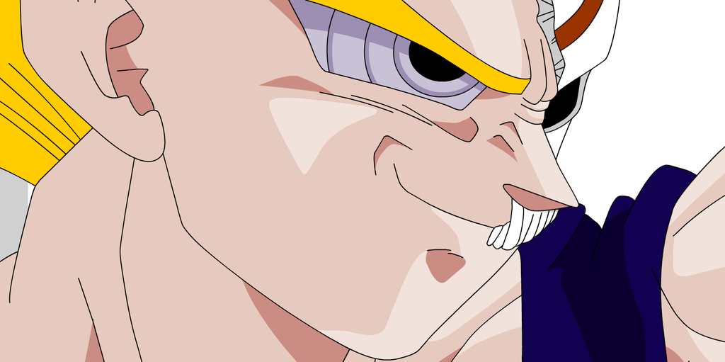 vegeta looks pretty cool with the rinnegan, mask by OC-Animator