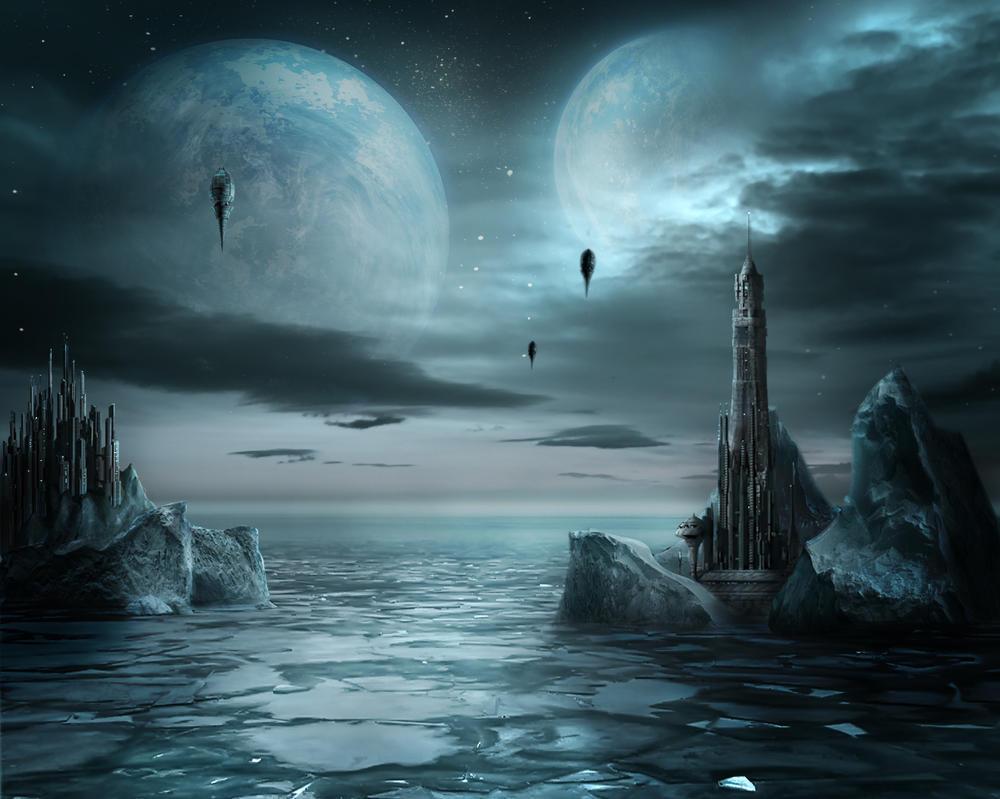 Ice planet by aidana2010
