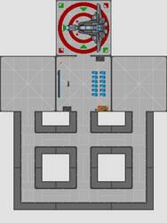 Landing pad, briefing room, coridor tiles by happienoodleboy