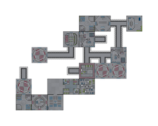 Space Station -580726620 Medium Standard Tiles by happienoodleboy