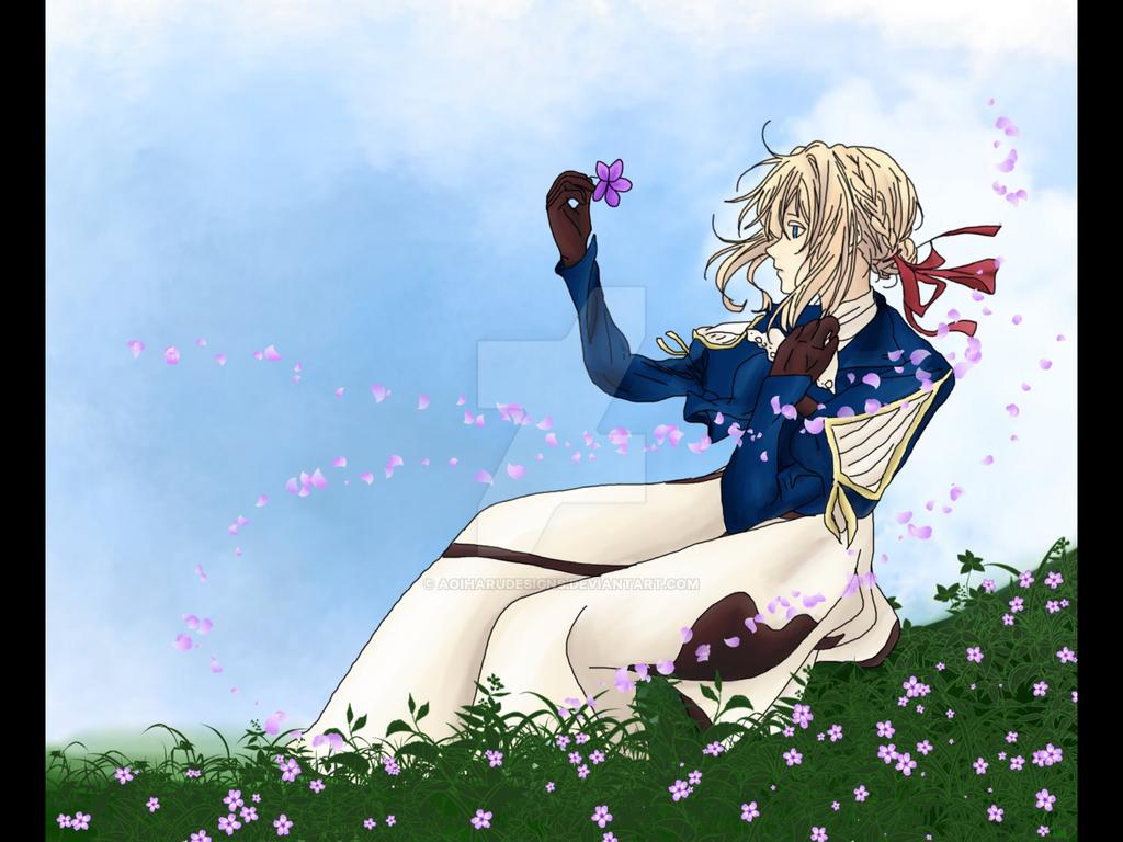 Violet Evergarden by AoiHaruDesigns