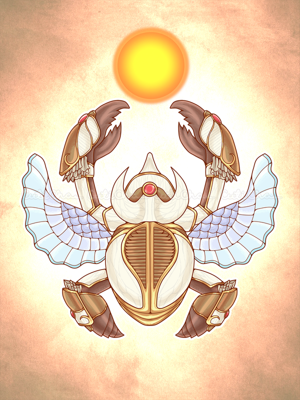 Tying the Connections: Khepri_SMITE by CutiChan